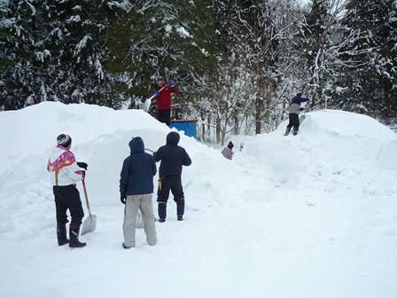 雪遊び準備1