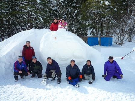 雪遊び準備3
