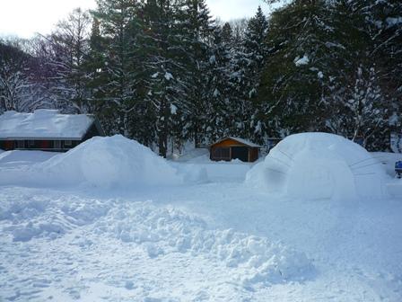 雪遊び準備4
